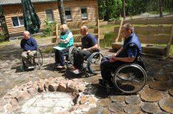 6-7 июля ГООО «Инвалиды -спинальники» провело семинар-тренинг для инструкторов-колясочников объединения и волонтеров