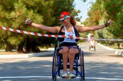 Международный легкоатлетический марафон среди спортсменов с ограниченными физическими возможностями «Скифский берег»