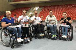 В Жлобине состоялась первая открытая спартакиада инвалидов-колясочников «Полесские игры»