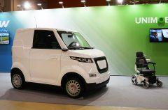 ЗАО «Струнные технологии» представила уникальный электромобиль для людей с инвалидностью