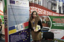 Проект по интеграции людей с инвалидностью в спорт и туризм представили на масштабной выставке регионов Беларуси и Украины
