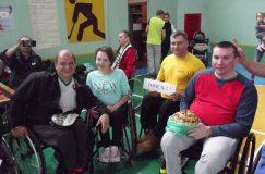 Команда ГООО «Инвалиды-спинальники» приняла участие в спартакиаде «Палеская восень»