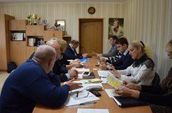 В Гомельском райисполкоме прошла очередная рабочая встреча с представителями органов власти