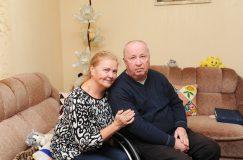 На такие испытания способна только любовь: история жизни председателя ГООО «Инвалиды-колясочники» Геннадия Золотарёва и его жены
