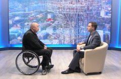 О новом законе о правах инвалидов и наших проектах — в видеоинтервью Геннадия Золотарева