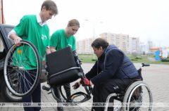 Волонтеры Гомельского обкома БРСМ будут оказывать помощь маломобильным избирателям в дни голосования