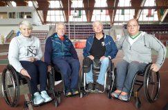 В Гомеле прошёл чемпионат области по лёгкой атлетике среди инвалидов с нарушениями слуха, зрения и ОДА.