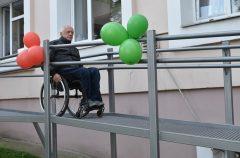 В филиале №2 Гомельской центральной городской поликлиники после реконструкции открыли пандус
